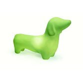 Dachshund Dog Pet Lamp in Mist Green