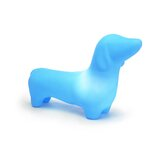Dachshund Dog Pet Lamp in Sky Blue