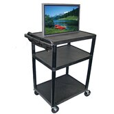 40&quot; High,  Low Priced Open Shelf Table