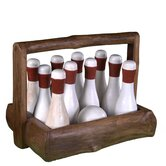 Gatsby Bowling Set with Basket