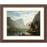 'Mirror Lake, Yosemite Valley' by Albert Bierstadt Framed Painting Print