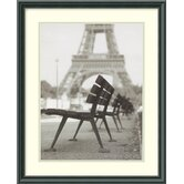"Rendezvous a Paris by Teo Tarras, Framed Print Art - 21.46"" x 17.46"""