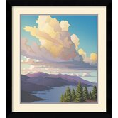 'Evening Sonata' by Doug West Framed Painting Print