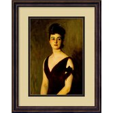 Mrs. Charles E. Inches (Louise Pomeroy), 1887 Framed Print Wall Art