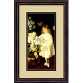 Helen Sears, 1895 Framed Print Wall Art