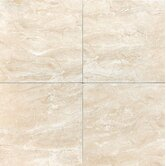 Torre Venato 13&quot; x 13&quot; Glazed Porcelain Field Tile in Crema