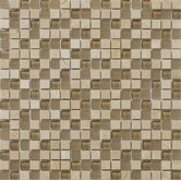 "Lucente 5/8"" x 5/8"" Stone and Glass Mosaic Blend in Murano"
