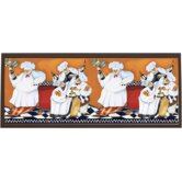Chefs A Cookin Wall Art - 10.25&quot; x 25&quot;