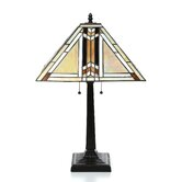 """Tiffany 23"""" H Style Table Lamp"""