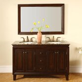 55&quot; Armstrong Double Bathroom Vanity