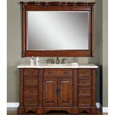 Sabina 58&quot; Single Sink Bathroom Vanity Cabinet