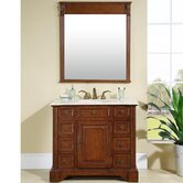 "Jennifer 40"" Single Sink Bathroom Vanity Cabinet"