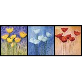 Ultimate Floral in Watercolor Panoramic Wall Mural