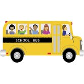 Ultimate School Bus Pre Cut Wall Mural