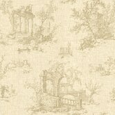 La Belle Maison Antiquity Linen Toile Wallpaper