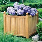 English Square Planter