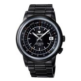 Automatic Modern Classic Men's Watch with Black Band and Black Dial