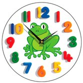 Happy Frog Children's Wall Clock