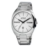 Impact Men's Watch in Silver with White Dial