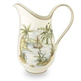 British Colonial Tradewind Large Pitcher