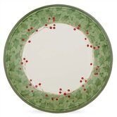 Holiday Damask Dinner Plate