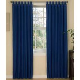 American Denim Drapes & Valance Set