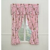 Camo Rod Pocket Drapes in Pink