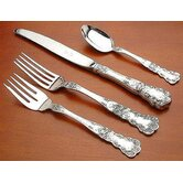 Gorham Buttercup 4 Piece Dinner Flatware Set