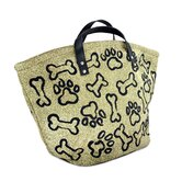 PB Paws & Co. Large Puppy Paws Tapestry Tote Bag