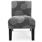 Deco Sunflower Fabric Slipper Chair