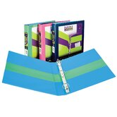 1.5&quot; 2 Tone Assorted Colors Binder