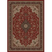 Oriental Classics Medallion Red Rug