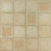 Vinyl Crème Marble Cubism Floor Tile (Set of 30)