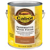 1 Gallon Chestnut Semi Transparent Preservative Wood Finish 140-4
