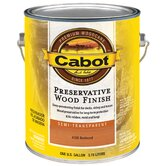 1 Gallon Redwood Semi Transparent Preservative Wood Finish 140-438