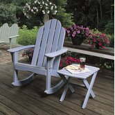 Cottage Classic Rocker with Side Table