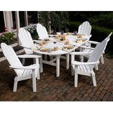 Lifestyle Poly Resin 7 Piece Dining Set
