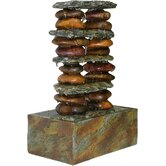Eternity Stacked Stone Tabletop Fountain