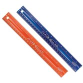 "12"" Assorted Colors Flexible Ruler"