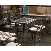 Gibraltar 5 Piece Gathering Height Dining Set