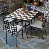 Carnevale 5 Piece Dining Set