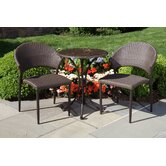 Vento Due All Weather Wicker Bistro Set