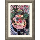 Goldfish Silver Framed Print - Henri Matisse