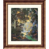 Old Oak Glen Bronze Framed Print - Maxfield Parrish