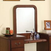 Louis Phillipe Vanity Set with Mirror in Cherry
