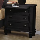 Sankaty 3 Drawer Nightstand