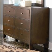 Kingman 6 Drawer Dresser