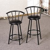 24&quot; Bar Stool in Black