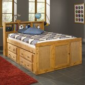 Muenster Captain's Bed in Oak