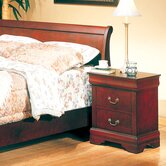 Louis 2 Drawer Nightstand
